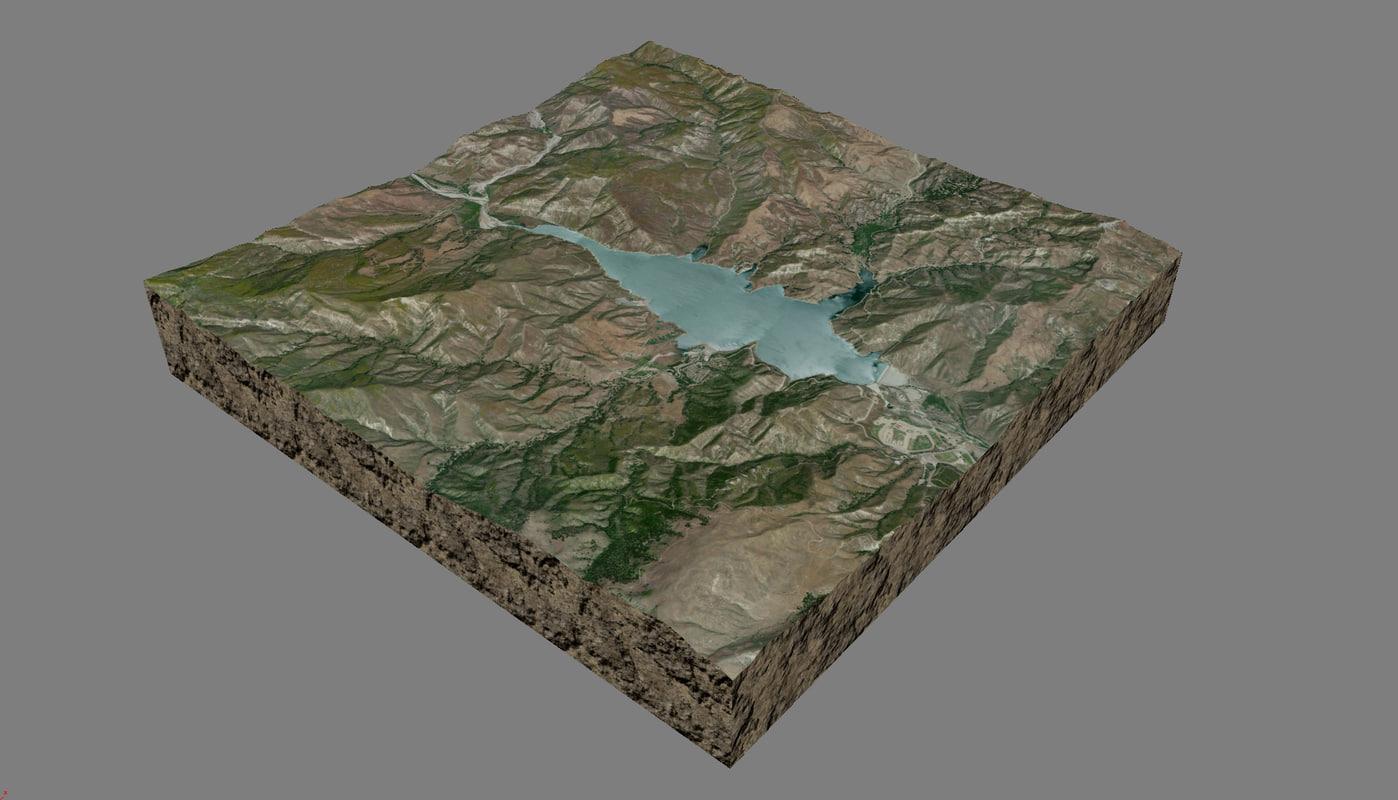 mesh lake piru 3d x