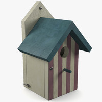 Wooden Birdhouse 3
