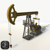 Oil pump jack simple