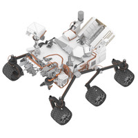 3d mars science laboratory curiosity
