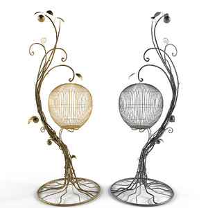 3d birdcage model