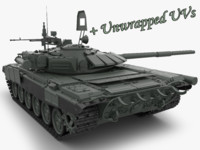 3d t 72 main battle tank