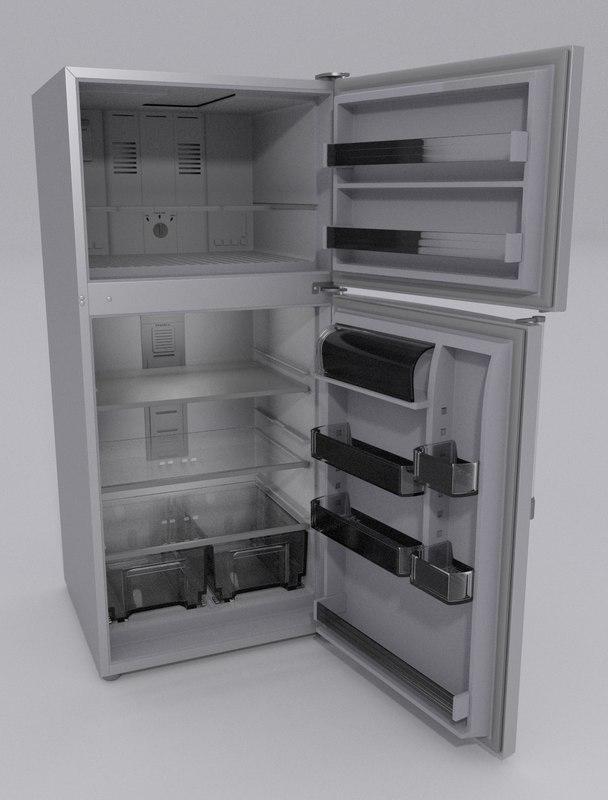 fridge 3d obj