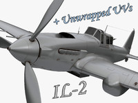 IL 2 Soviet hedgehopper fighter WW2