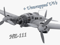 He 111 German bomber WW2