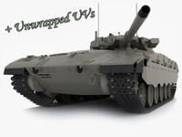 3d merkava mk 2 tanks model