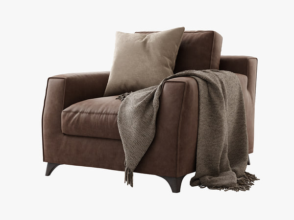 3d bodema mr floyd armchair model