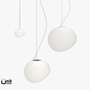 3 hanging lamp foscarini 3d model