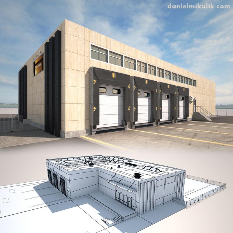 3d cargo building