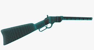 rifle henry 1860 ma