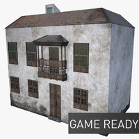 c4d house old