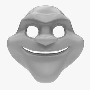 biggy man mask max
