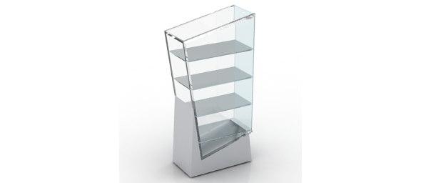 3d model glass case