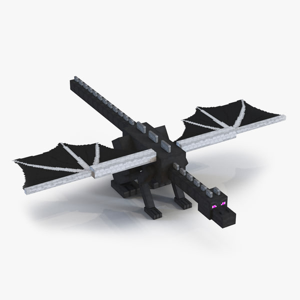 3d model minecraft ender dragon