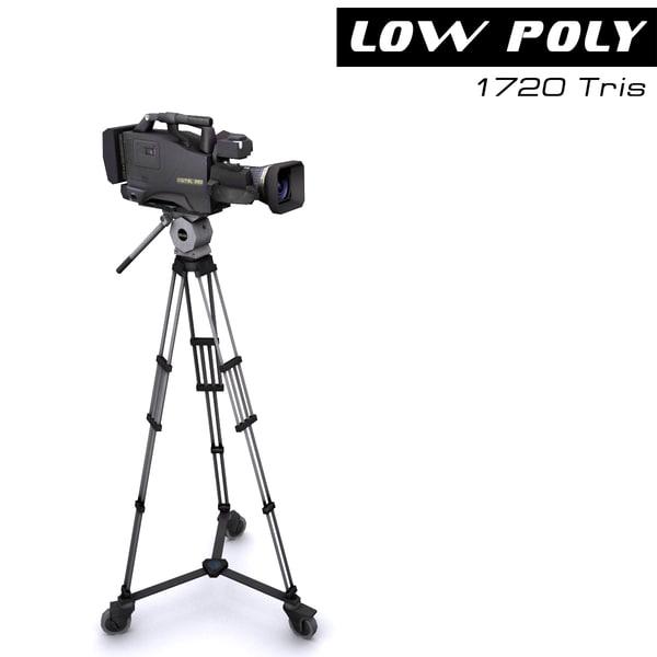 tv camera 3d max
