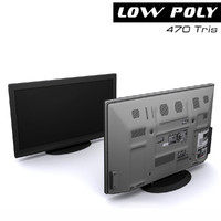 TV set black
