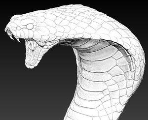 3d cobra head