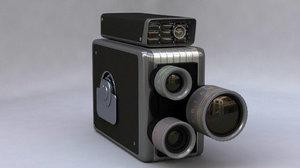 kodak 8mm 3d model