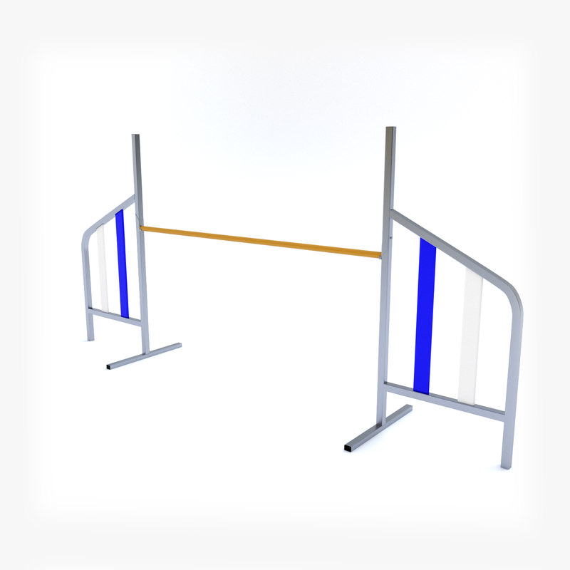 3d obj pet hurdle
