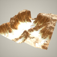 Detailed Canyon Model