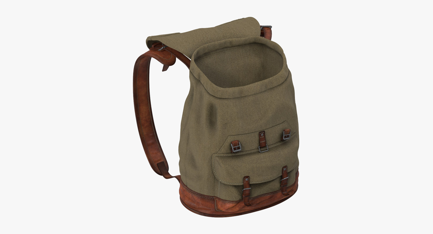 Travel Backpack Standing Open 02