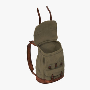 standing open travel backpack max