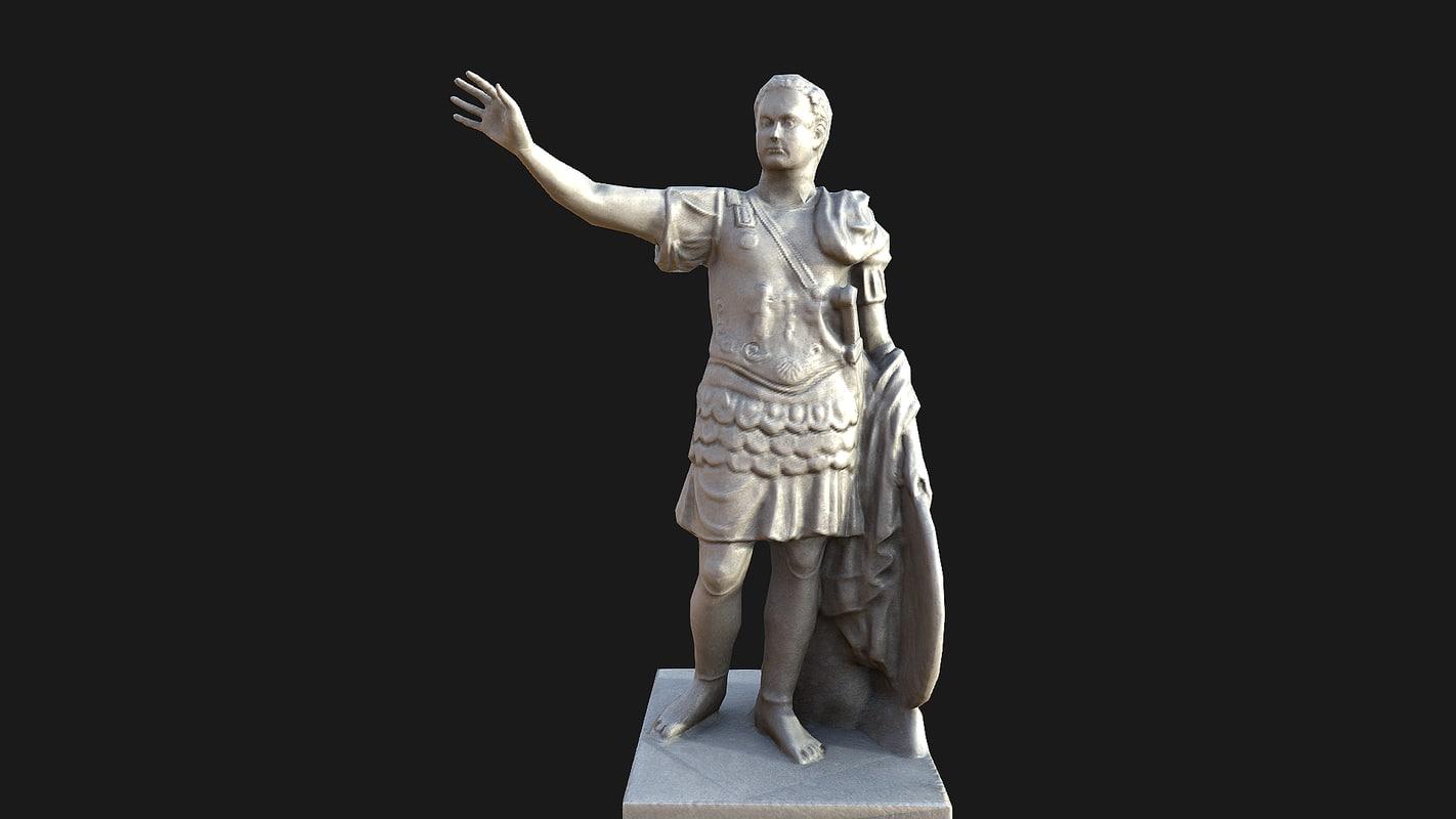 3d model emperor titus