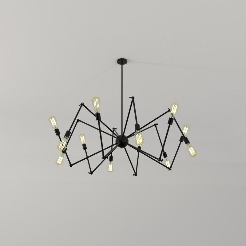 lamp light 3d blend