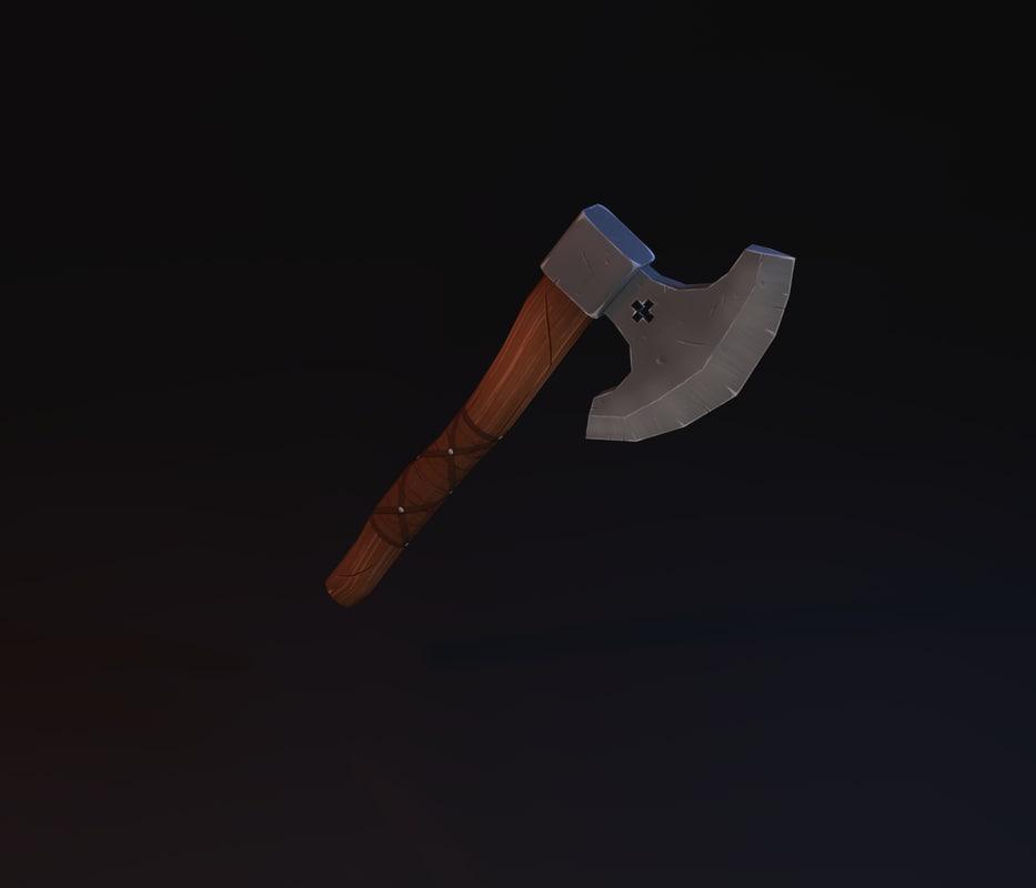 hand axe 3ds