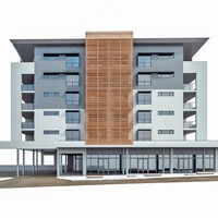 residential building exterior 3ds