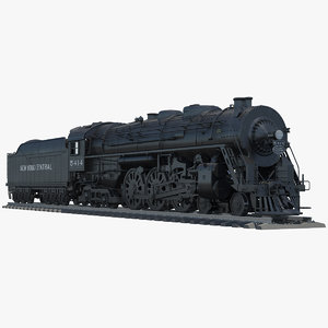 3d model of new york central j3a