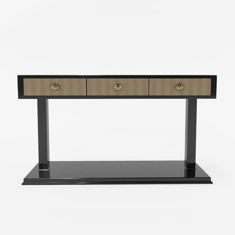 3d hill house chelsea console model