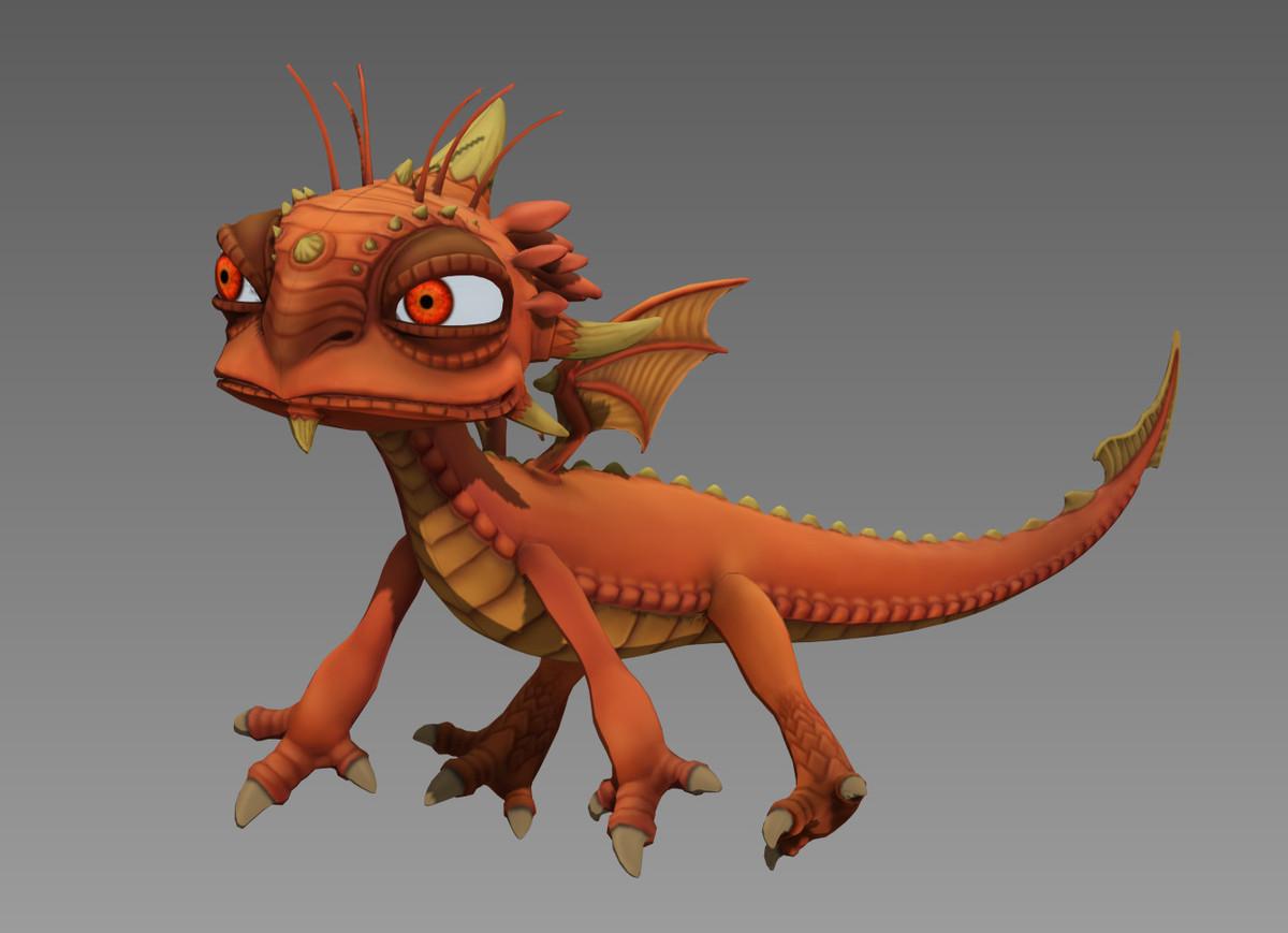 3d creatures fantasy dragon