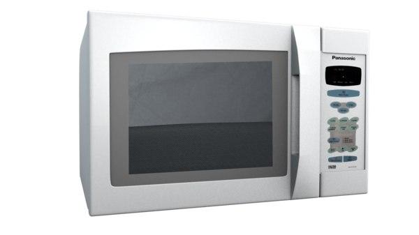 panasonic microwave 3d c4d