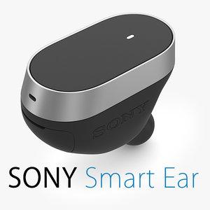 sony smart ear 3d 3ds