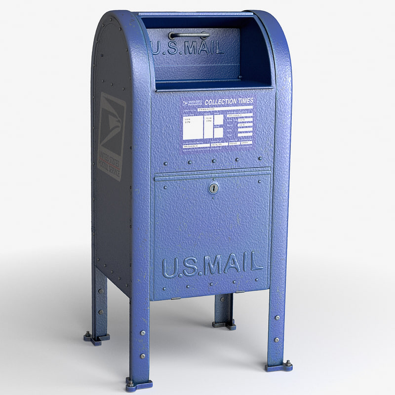 3d max mailbox