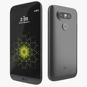 3d model new lg g5 metal