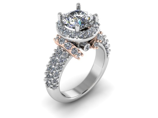 3d halo ring model