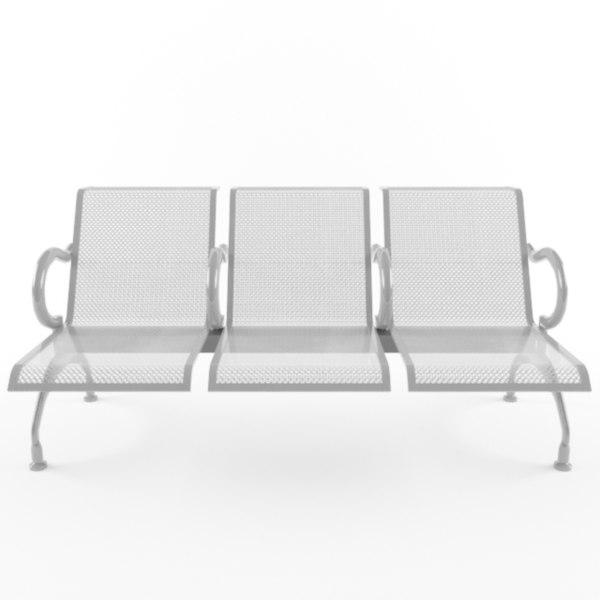 3d chair tandem model