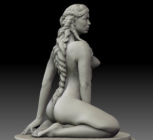 zbrush female 3ds