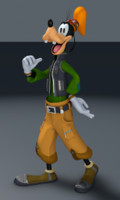 3d goofy kingdom hearts