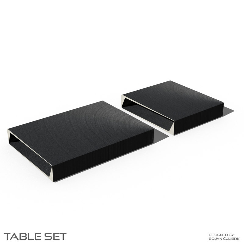 table set 2 3d obj