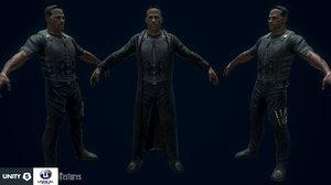 3d model vampire hunter