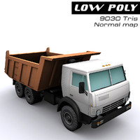 3d model tipper ready games