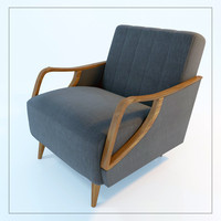armchair theodore 3d model