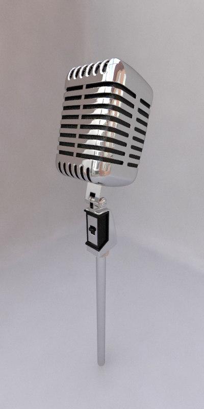 obj microphone