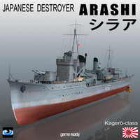 Japanese destroyer Arashi