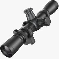 Rifle optical scope Leupold Mark 4