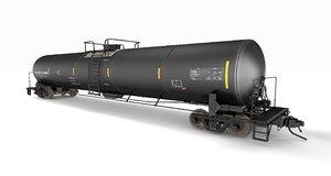 modern oil tanker car obj