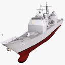 USS Lake Erie 3D models